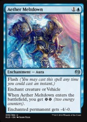 Aether Meltdown - Foil on Channel Fireball