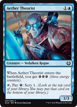 Aether Theorist - Foil