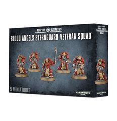 Blood Angels Sternguard Veteran Squad