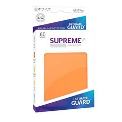 Ultimate Guard - Supreme UX Sleeves Small Size - Orange (60)