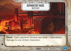Seperatist Base - Mustafar