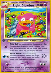 Light Slowbro - 51/105 - Uncommon - 1st Edition