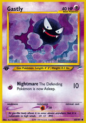 Gastly - 65/105 - Common - 1st Edition