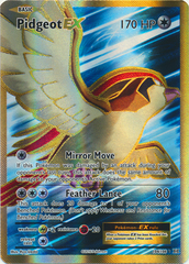 Pidgeot-EX - 104/108 - Full Art Ultra Rare