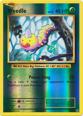 Weedle - 5/108 - Common - Reverse Holo