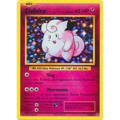 Clefairy - 63/108 - Holo Rare
