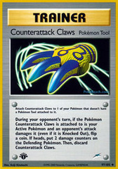 Counterattack Claws - 97/105 - Uncommon - 1st Edition