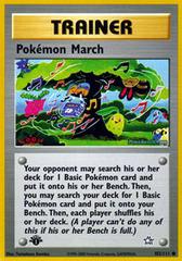Pokemon March - 102/111 - Common - 1st Edition