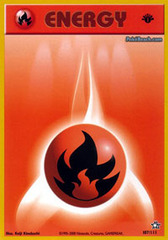 Fire Energy - 107/111 - Common - 1st Edition