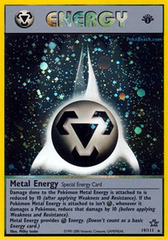 Metal Energy - 19/111 - Holo Rare - 1st Edition