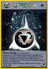Metal Energy - 19/111 - Holo Rare - 1st Edition