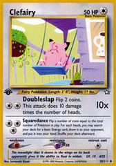 Clefairy - 30/111 - Uncommon - 1st Edition