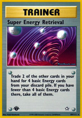 Super Energy Retrieval - 89/111 - Rare - 1st Edition