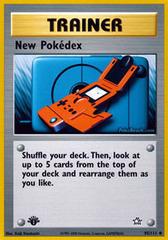 New Pokedex - 95/111 - Uncommon - 1st Edition