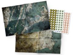 Mutant: Year Zero - Maps & Markers Pack