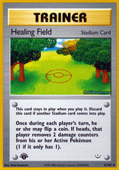 Healing Field - 61/64 - Uncommon - 1st Edition