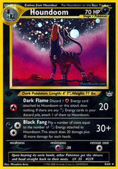 Houndoom - 8/64 - Holo Rare - 1st Edition