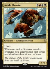 Ankle Shanker on Channel Fireball