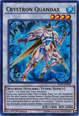 Crystron Quandax - INOV-EN044 - Ultra Rare - 1st Edition