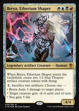 Breya, Etherium Shaper - Oversized Foil