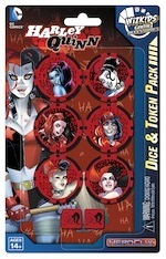 DC Heroclix: Harley Quinn Dice and Token Pack