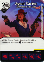Agent Carter - Answered the Call (Die & Card Combo)