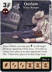 Outlaw - Texas Ranger (Foil) (Card Only)