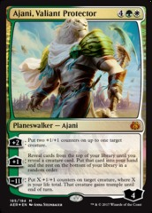 Ajani, Valiant Protector (Planeswalker Deck Foil) on Channel Fireball