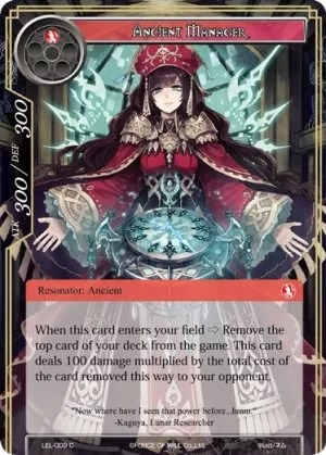 Ancient Manager - LEL-009 - C - Foil