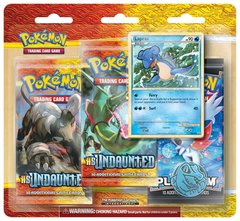 HeartGold & SoulSilver Undaunted Three Pack Blister - Lapras