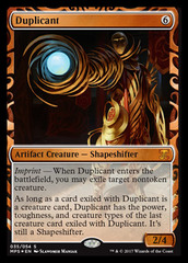 Duplicant (Masterpiece Foil) on Channel Fireball
