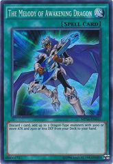 The Melody of Awakening Dragon - MP16-EN041 - Super Rare - Unlimited Edition
