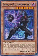 Radian, the Multidimensional Kaiju - MP16-EN163 - Rare - Unlimited Edition