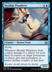 Skyship Plunderer on Channel Fireball