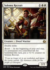 Solemn Recruit - Foil