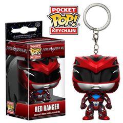Pocket Pop! Keychain: Power Rangers (2017 Movie) - Red Ranger