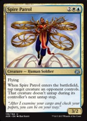 Spire Patrol - Foil on Channel Fireball