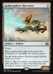 Aethersphere Harvester - Foil on Channel Fireball