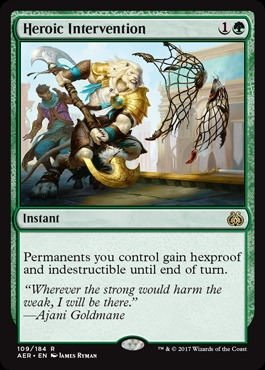 Heroic Intervention - Foil