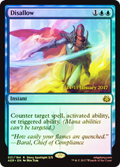 Disallow - Foil - Prerelease Promo