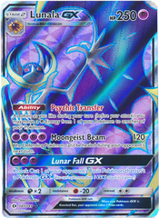 Lunala-GX - 141/149 - Full Art Ultra Rare