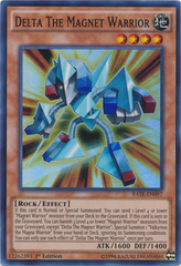 Delta The Magnet Warrior - RATE-EN097 - Super Rare - 1st Edition
