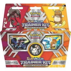 Pokemon - Sun & Moon Trainer Kit - Lycanroc & Alolan Raichu