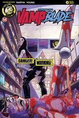 Vampblade Season Two #2 Cvr B Winston Young Risque (Mr)