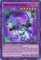 Frightfur Wolf - FUEN-EN021 - Super Rare - 1st Edition