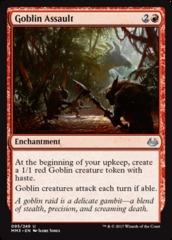 Goblin Assault - Foil on Channel Fireball