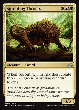 Sprouting Thrinax