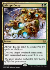 Abrupt Decay - Foil on Channel Fireball