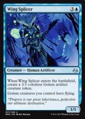 Wing Splicer - Foil on Channel Fireball