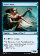 Azure Mage - Foil on Channel Fireball